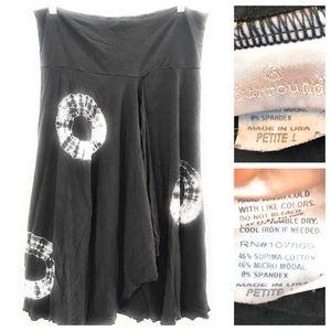 Soft Surroundings Tie Dye Skirt